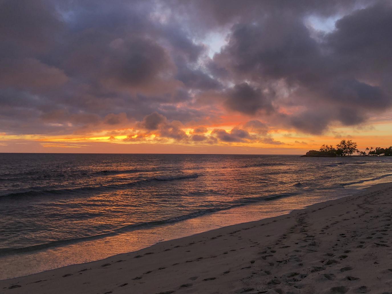 Seychellen - zonsondergang