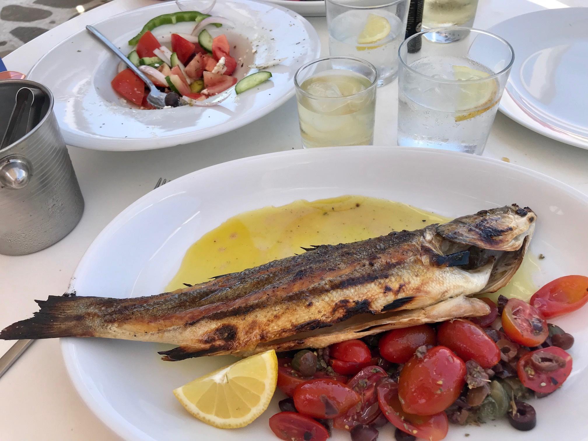 Kreta - lunch