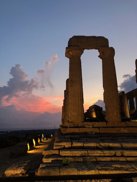 Valle dei Templi - Agrigento - Sunset